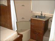 Rear bath- tub