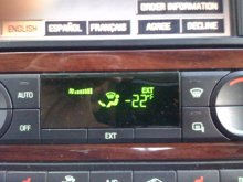 January 2, 2010 Iowa Temperature....couldn't Wait To Get Back To Texas