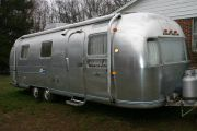 Our Airstream Before Polishing