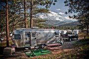 Our New Airstream At Rocky Mtn Natl Park