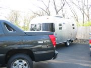 Airstream and 2004 Avalanche