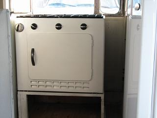 Reconditioned Stove