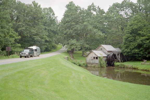 """An Airstream """"Down By The Old Mill Stream"""""""