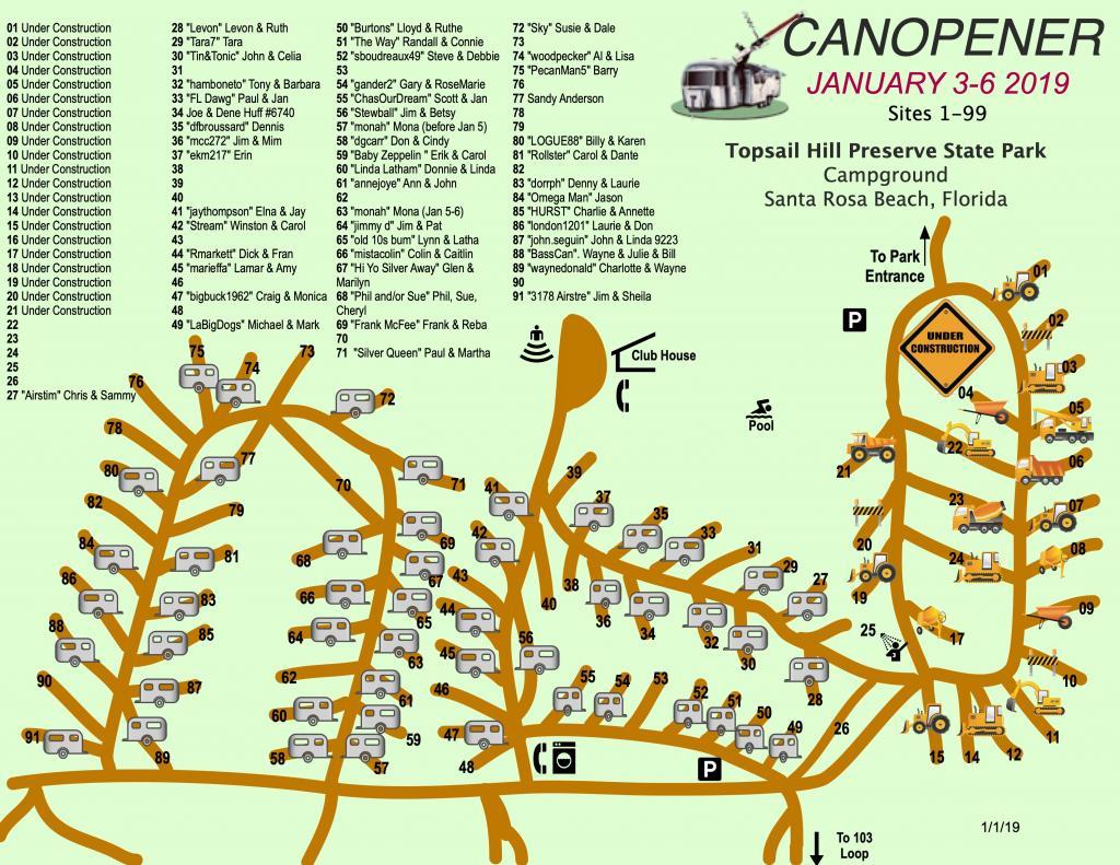 Canopener 2019 Map Sites 1-99