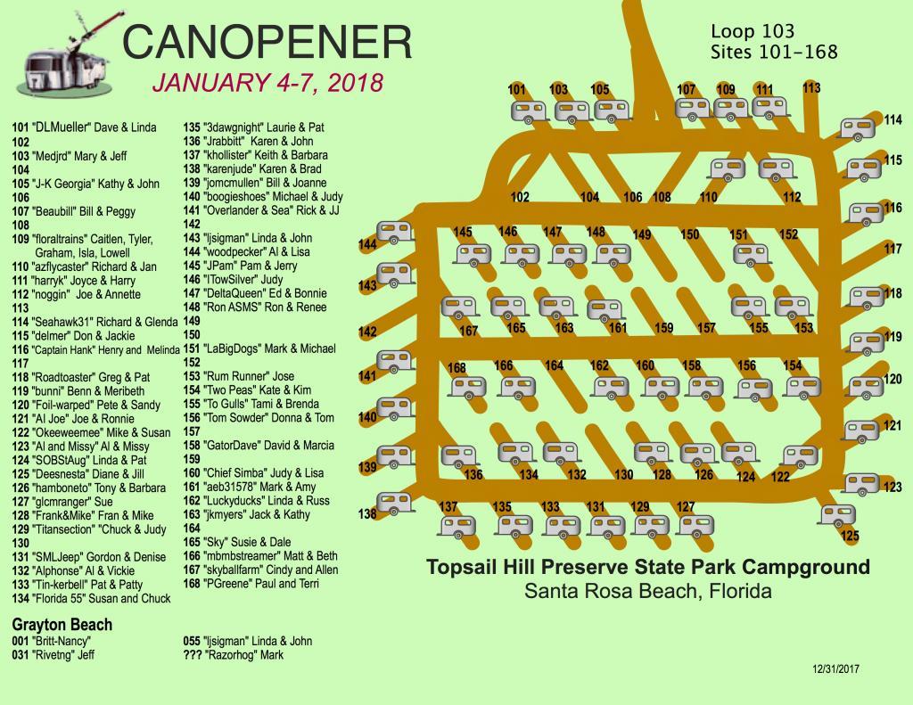 Canopener 2018 Map 103 Loop