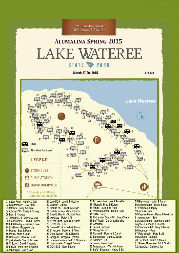 Spring 2015 Alumalina Map