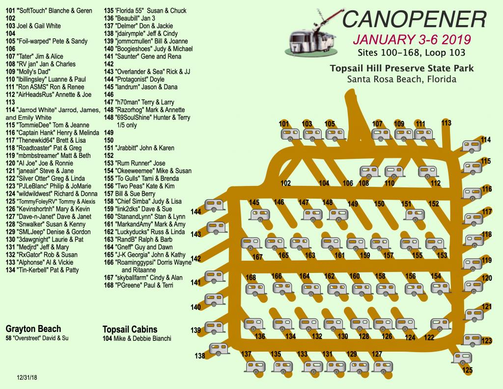 Canopener 2019 Map Sites 100-168