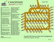 Canopener 2017 Rally Map 103 Loop