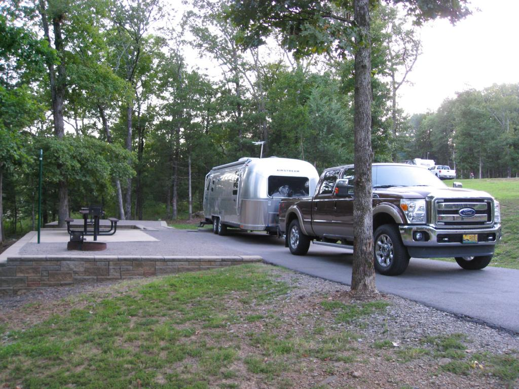 Lake Fort Smith Campsite
