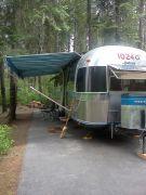 Camp In Idaho Below Cour De Alene