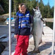 Zach's big salmon