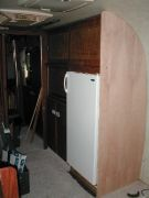 New reefrigerator and end panel