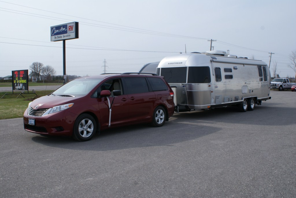Toyota sienna with towing package autos post
