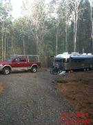 Our One- Camper Campsite