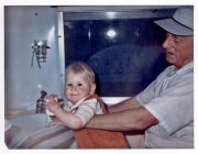 In Airstream Bathroom May 1970