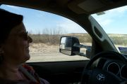Heading West With Skye At The Wheel