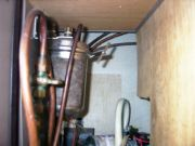 Connections under kitchen counter/sink/stove top