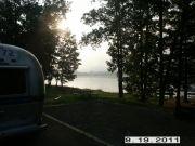 Morning Mist Cowanesque Lake, Tompkins, Pa