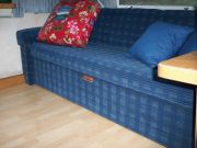 New Floor &  Reupholstered Couch