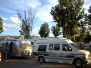 Airstream and  van