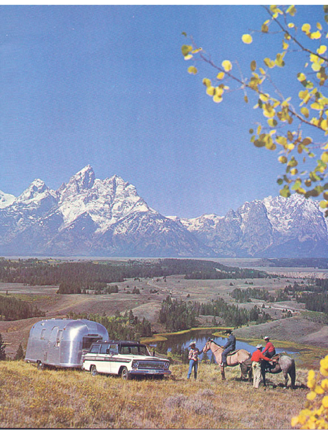 Jeep wagoneer and Airstream