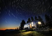 Airstream And Stars