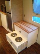 Dog Bowl/entertainment Cabinet
