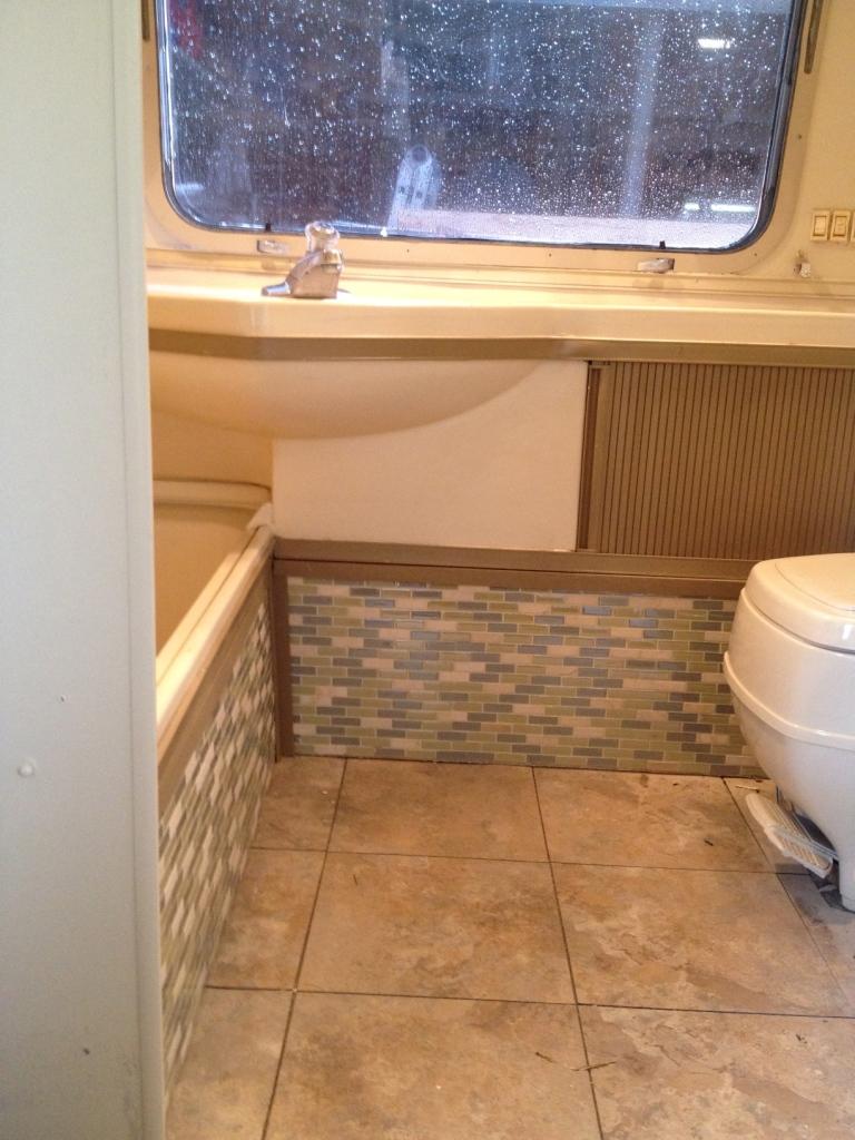 Tile Work In 78 Sovereign Bathroom
