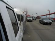 Airstreamn' on the Golden Gate