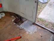 Curb Side  Floor Rot