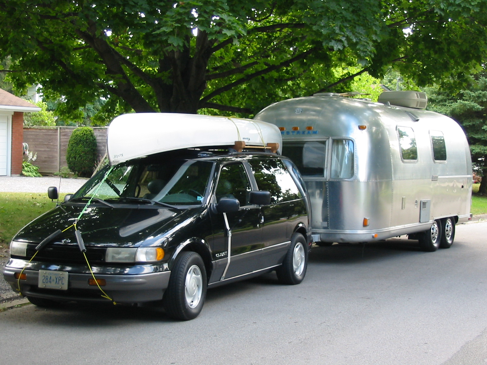 Nissan And Airstream