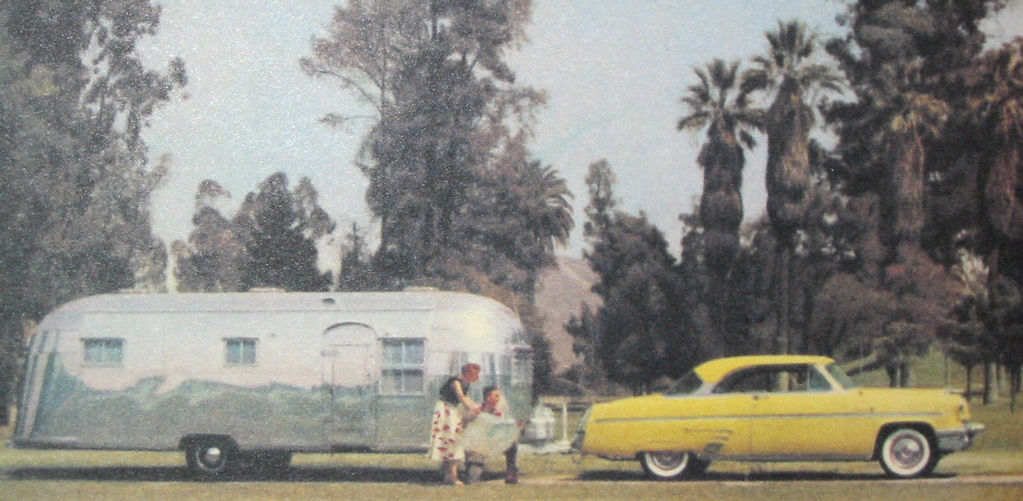 55 Mercury and Airstream