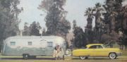 55 Mercury and Airstream