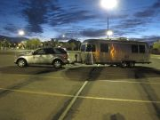 The Complete Rig At Surise In Arizona