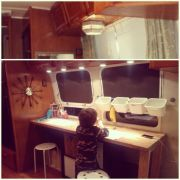 """12v Light Fixtures, Changed Out Over Our """"creative Space"""""""