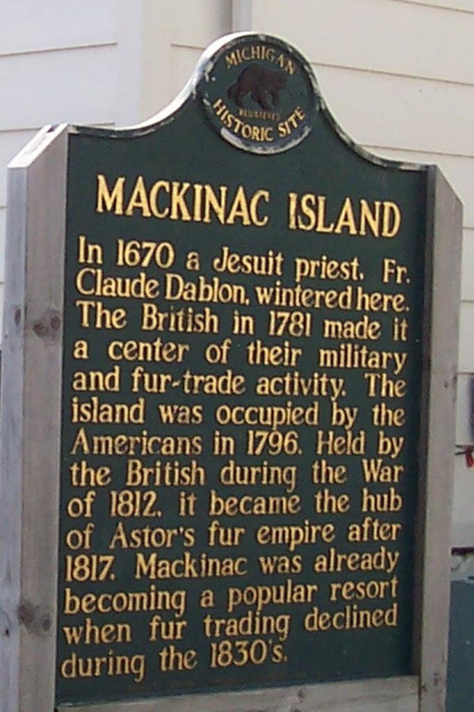 Mi Mackinac Is - 1 5