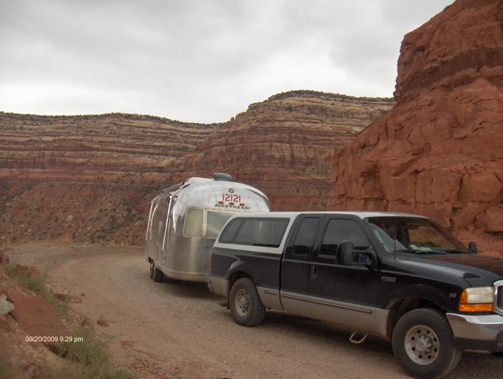 The Dugway Going To Muley Pt.