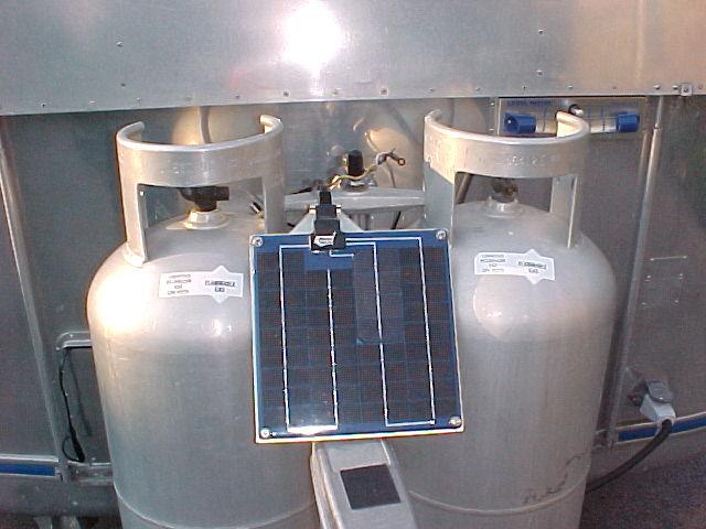 5 watt Solargizer solar charger/maintainer