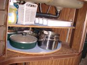 Lazy Susan for pots and pans