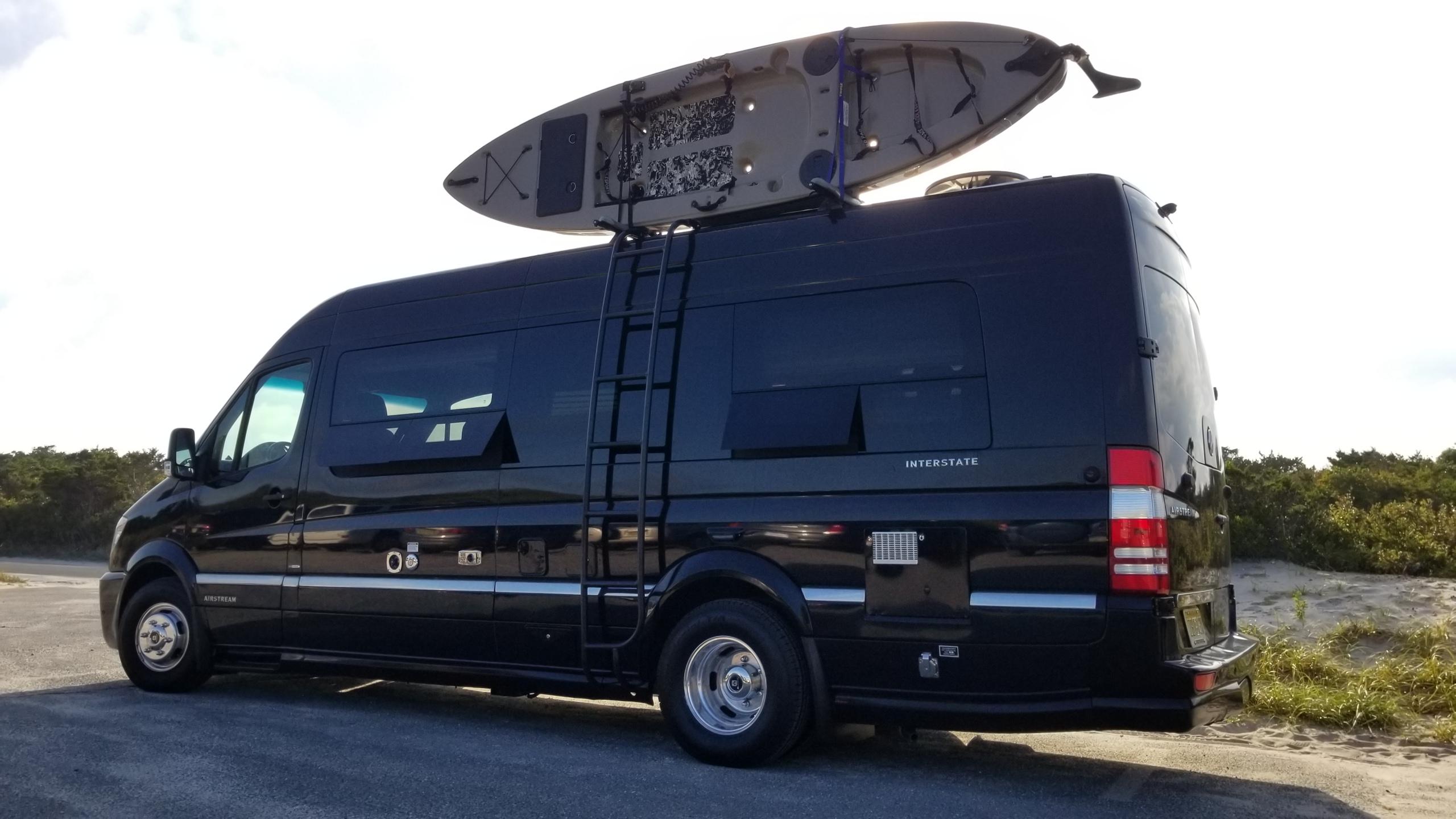 Airstream Interstate Kayak & Ladder