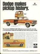 1973 Dodge D100 Adventurer Club Cab