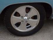 Custom Wheels on '75 Cadillac Towcar