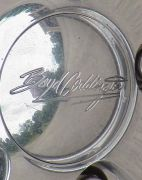 Center Cap Detail on Cadillac Custom Wheels