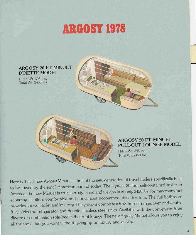 1978 22 foot argosy vs 1978 22 minuet airstream forums rh airforums com Craigslist Airstream Argosy Airstream Argosy Motorhome