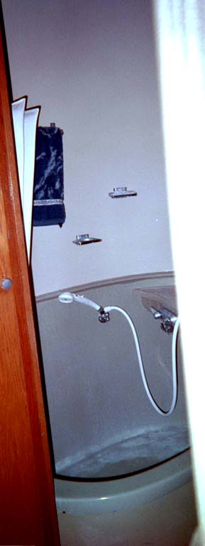 Bathtub Before Refinishing
