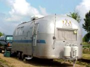 1964 Airstream Overlander International Exterior Before Restoration_Front V