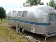 1964 Airstream Overlander Exterior Before Restoration