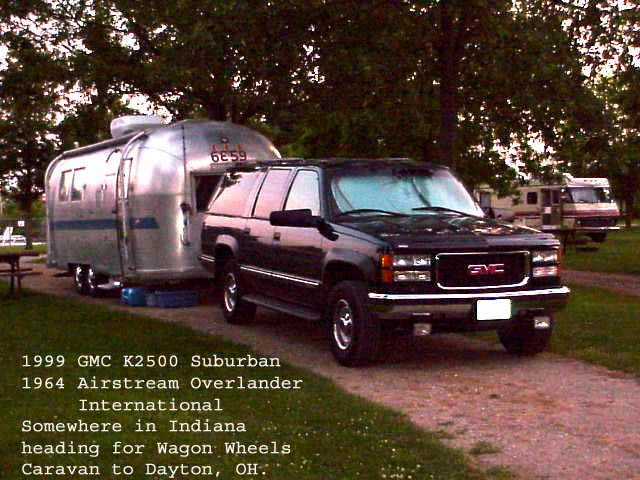 1999 GMC K2500 SLT Suburban with 1964 Overlander International