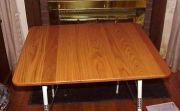 1964 Overlander International Drop-Leaf Table with new Oak Top