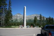Theodore Roosevelt Monument -- Glacier National Park